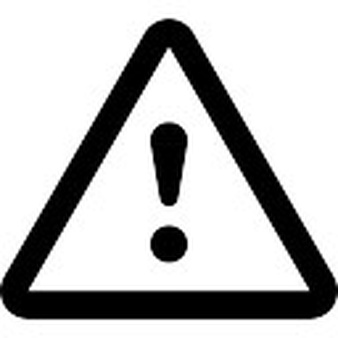 Attention exclamation triangular signal - Attention Sign PNG
