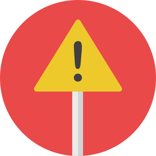 Size - Attention Sign PNG