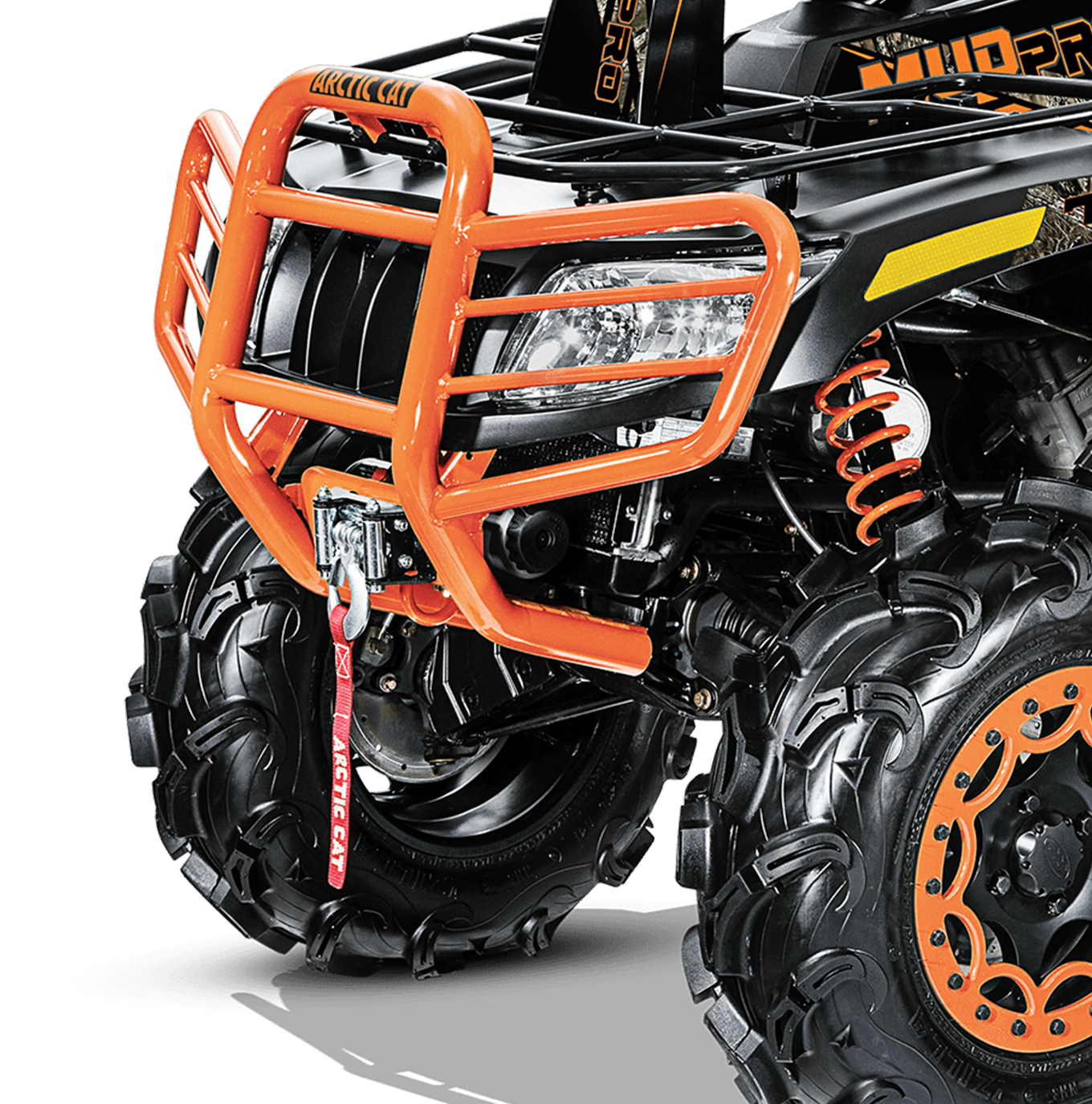 Heavy-Duty Front u0026 Rear Bumpers - Atv Mud PNG