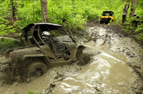 Riding Through the Mud in Ontario - Atv Mud PNG