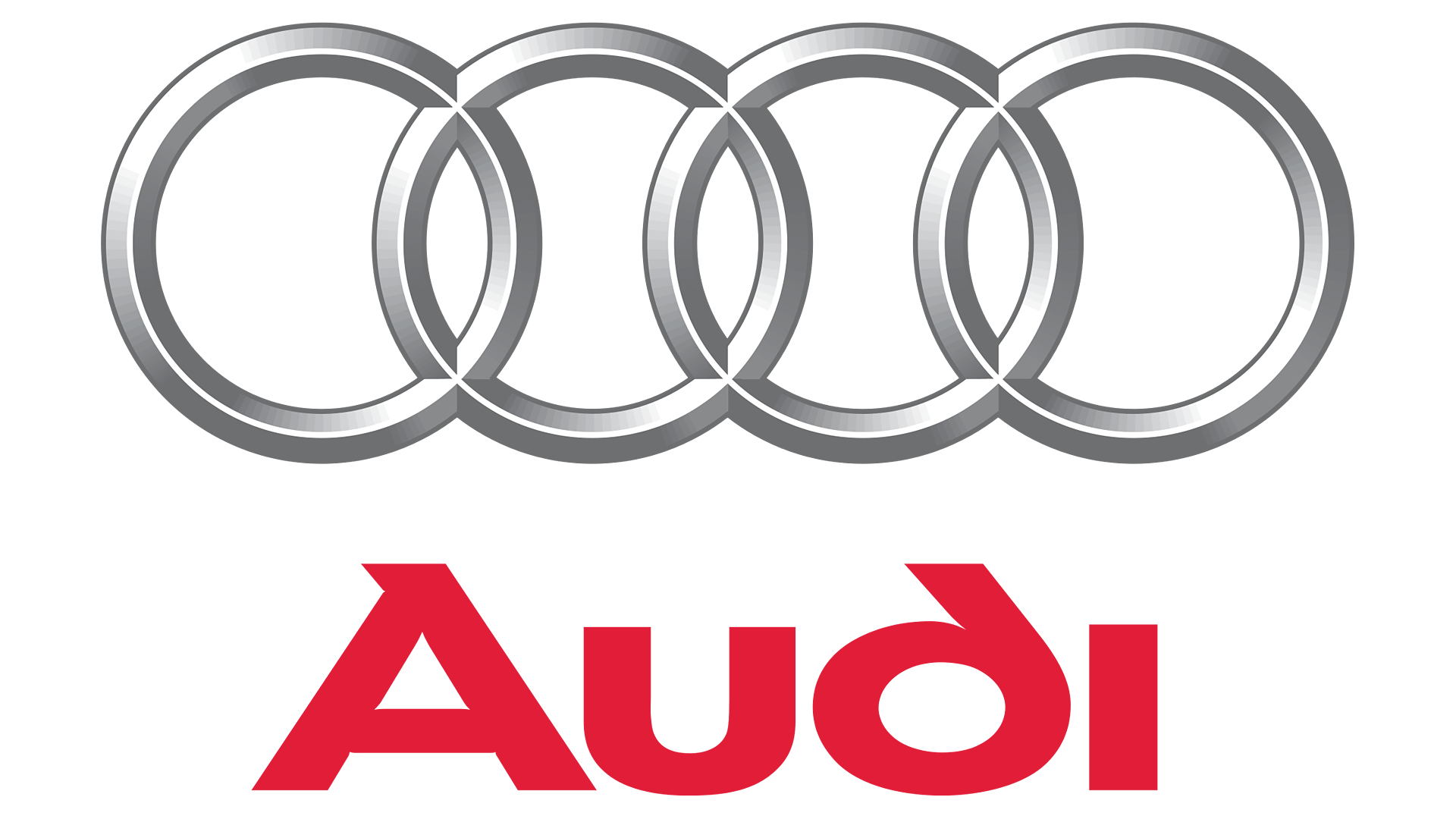 Audi Logo Vector (Black White