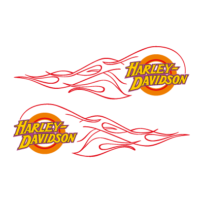 Harley-Davidson flame vector logo - Audiopipe Vector PNG