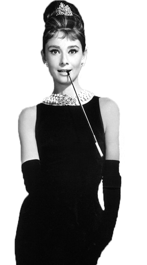 Audrey-Hepburn by TinyStar0 PlusPng.com  - Audrey Hepburn PNG