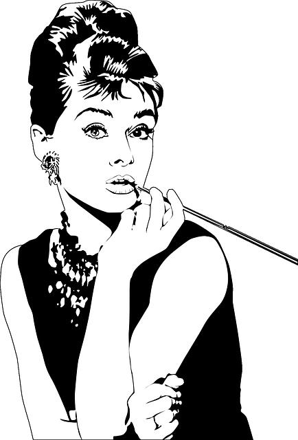Free vector graphic: Audrey Hepburn, Actress, Lipstick - Free Image on  Pixabay - 154881 - Audrey Hepburn PNG