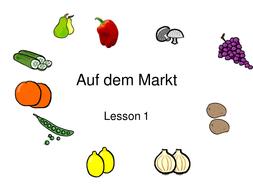 Auf-dem-Markt-1-and-2.ppt - Auf Dem Markt PNG