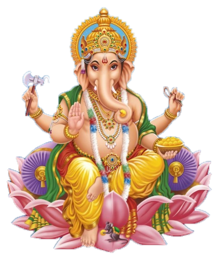 AUM Ganesha Goddess Laxmi Monad - Sri Ganesh PNG