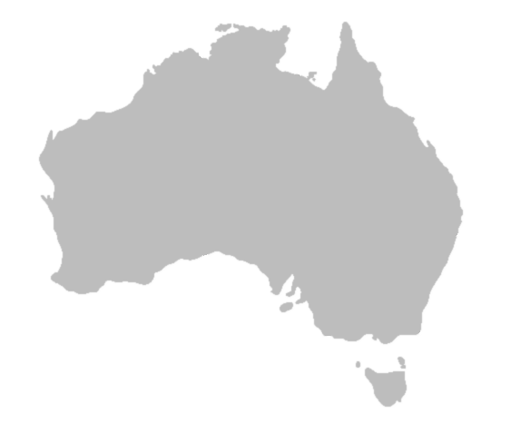 BlankMap-Australia.png PlusPng.com  - Australia PNG