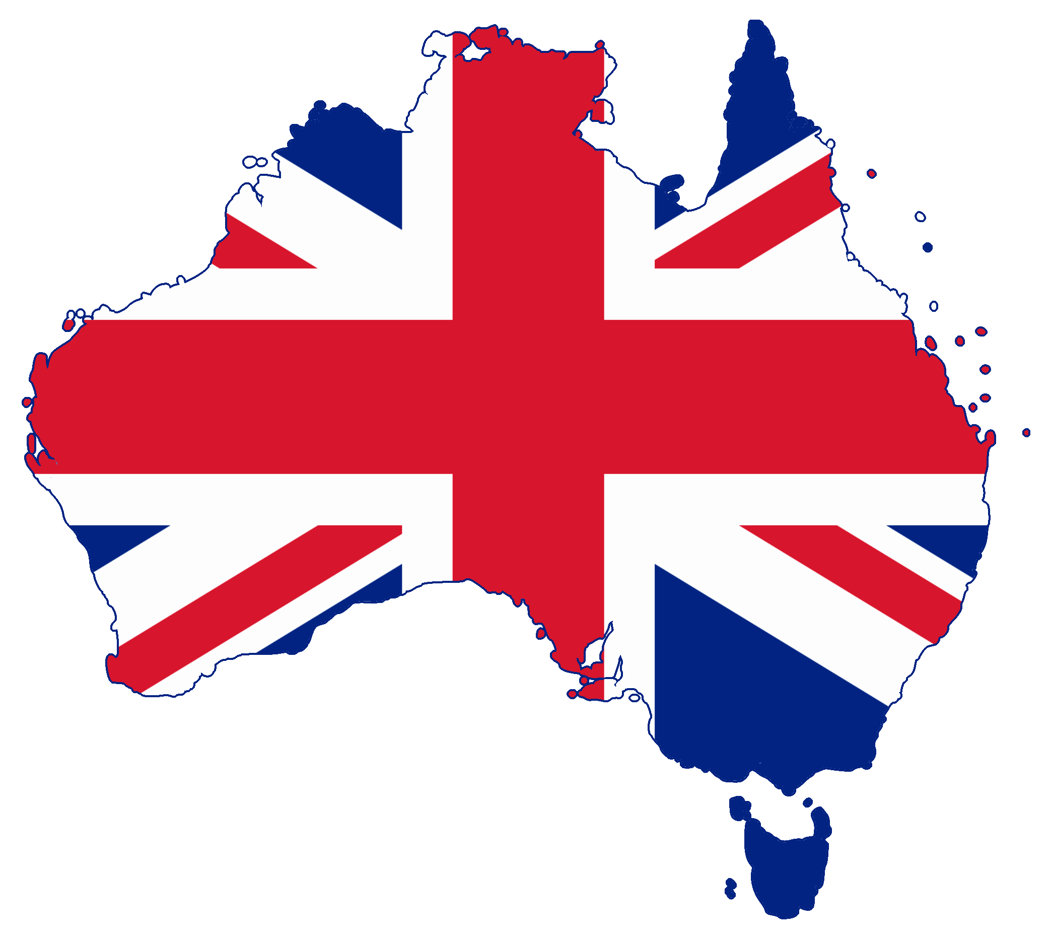 File:Flag map of Australia (United Kingdom).png - Australia PNG