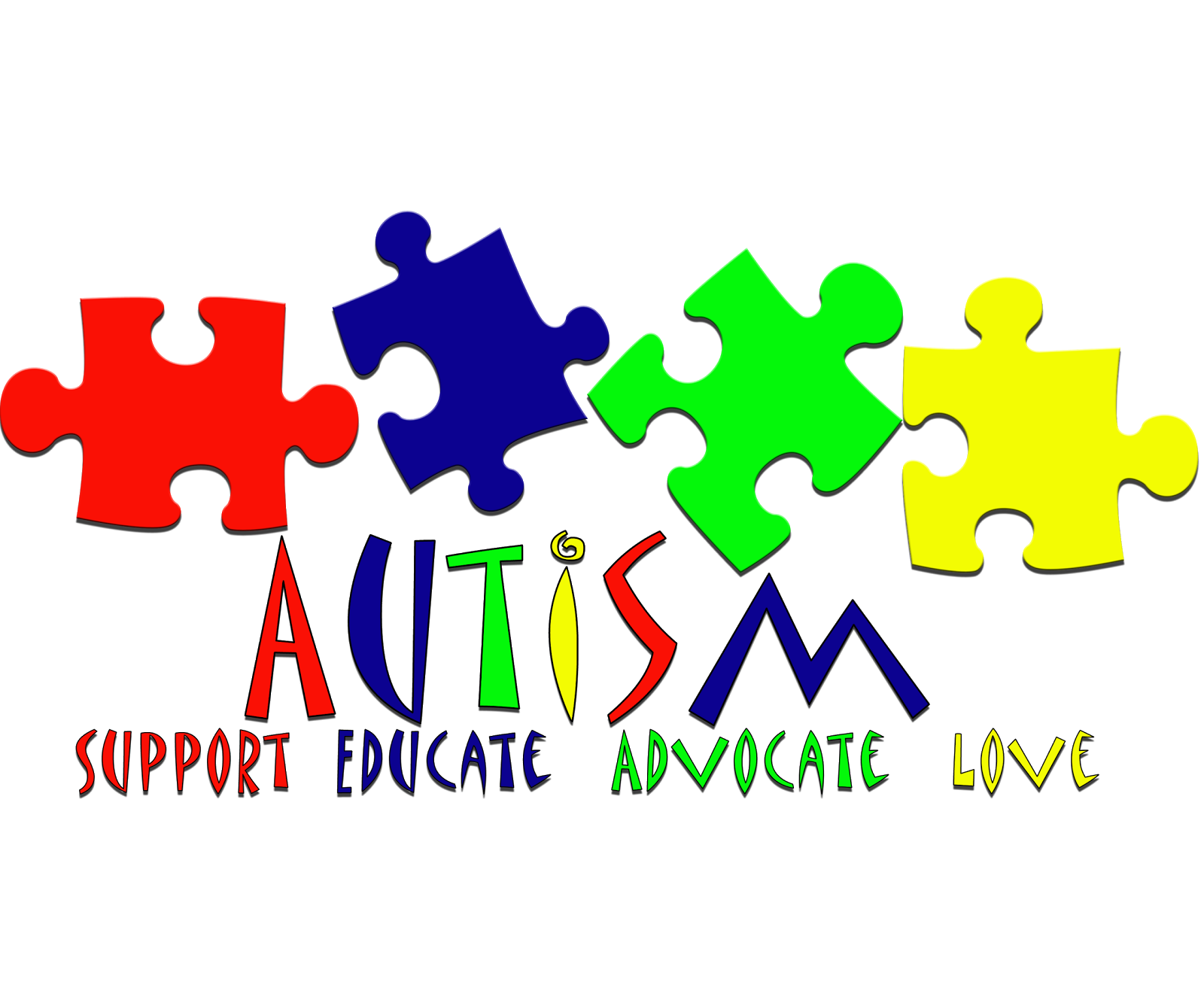 autism awareness clipart - Autism Speaks Logo Vector PNG
