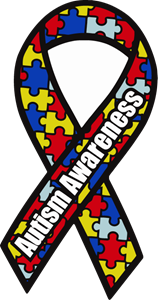 Autism Awareness Ribbon Logo Vector - Autism Speaks Logo Vector PNG