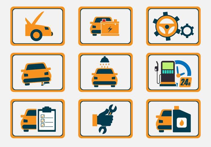Auto Body Repair Icon Vectors - Auto Body Unlimited Logo PNG