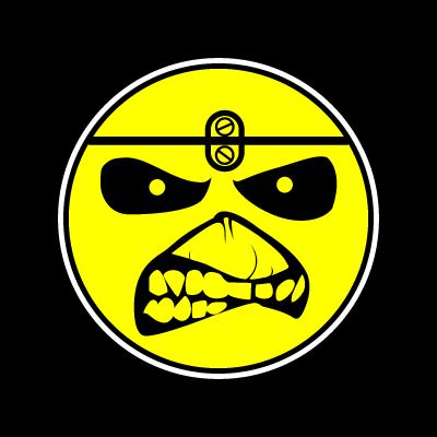 Iron Maiden Eddie Smile logo - Auto Life Blindagens PNG