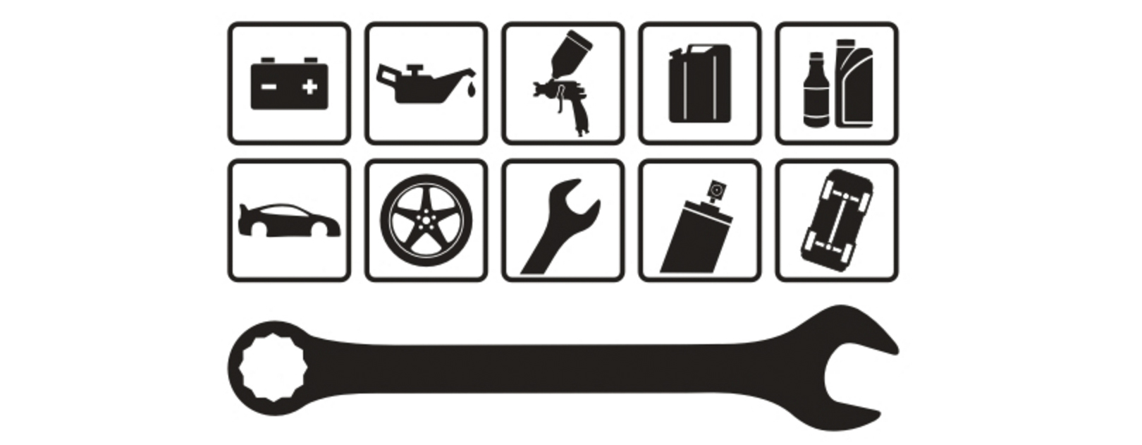 Auto Mechanic PNG Black And White-PlusPNG.com-1620 - Auto Mechanic PNG Black And White
