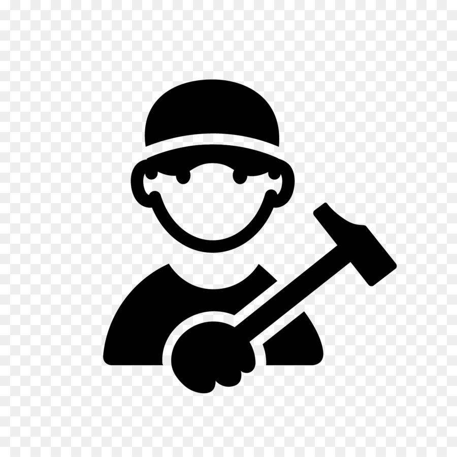 Car Auto mechanic Maintenance Clip art - Industrial Worker - Auto Mechanic PNG Black And White