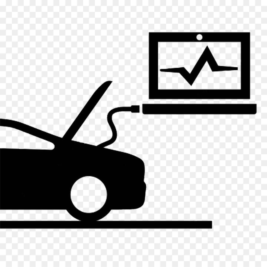 Car Automobile repair shop Motor Vehicle Service Auto mechanic - auto parts - Auto Mechanic PNG Black And White