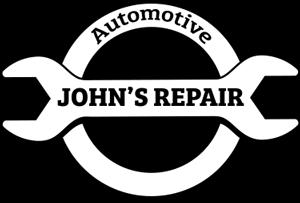 Johnu0027s Repair Logo - Auto Mechanic PNG Black And White
