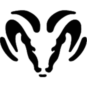 Free Vector Logo Dodge Ram - Auto Ram Logo Vector PNG