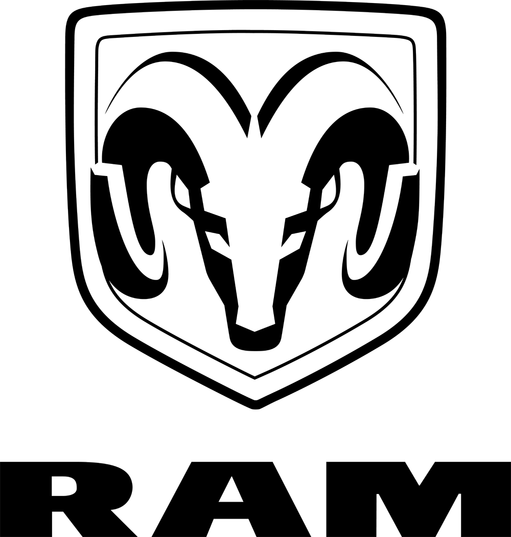 Auto Ram Logo Vector PNG - 106727