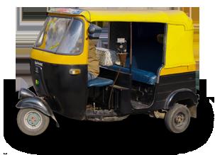 Auto Rickshaw PNG - 76174