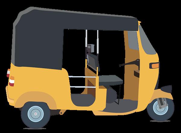 Auto Rickshaw PNG - 76181