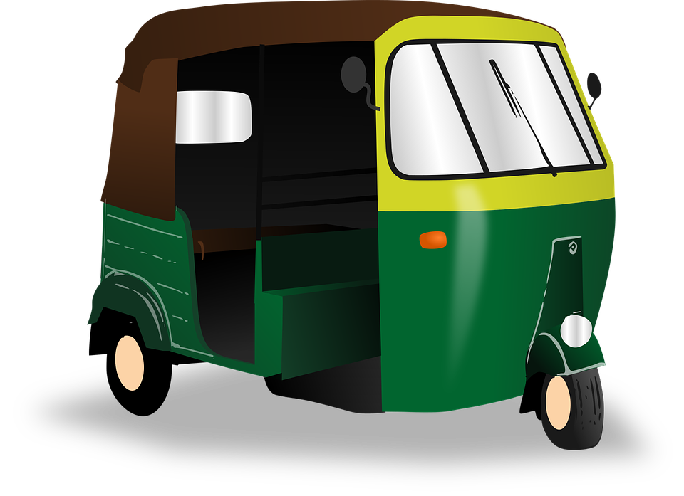 Rickshaw, India, Transport, Taxi, Asian, Autorickshaw - Auto Rickshaw PNG
