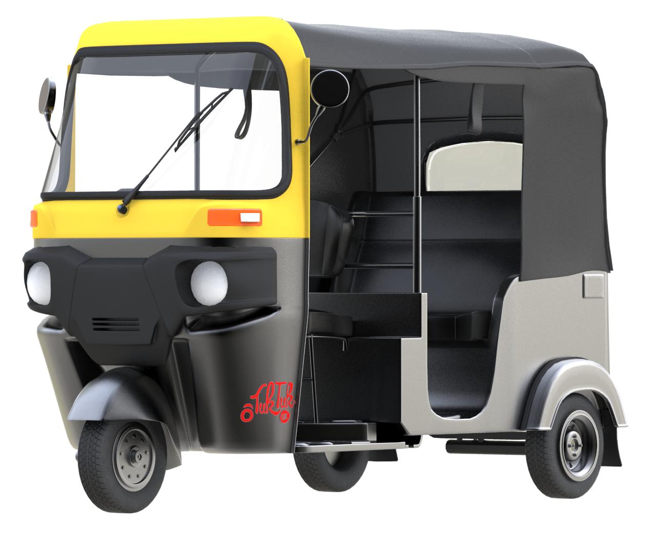 Auto Rickshaw PNG