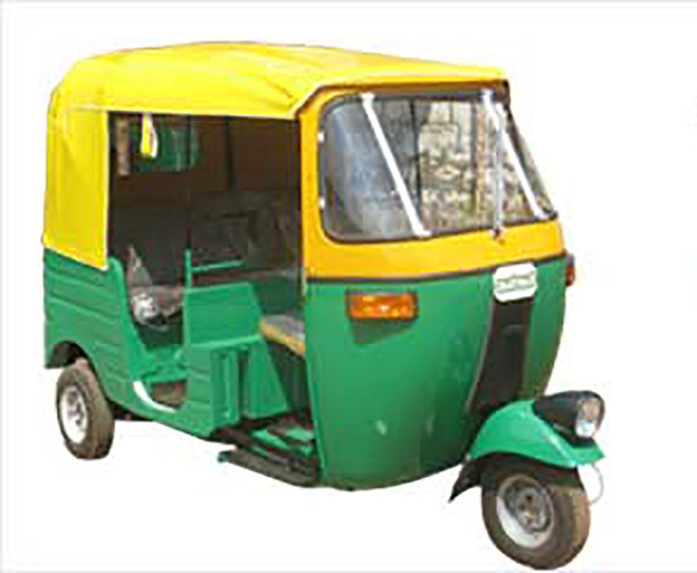 Tuk TuK Single Head Light Auto Rickshaw - Auto Rickshaw PNG