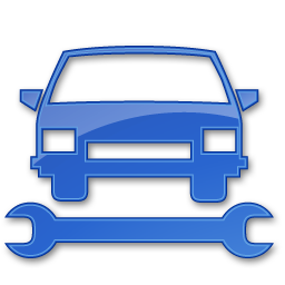 Car Repair Blue 2 Icon - Auto Shop PNG