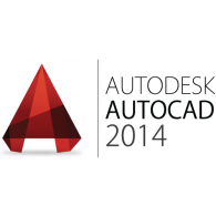 Logo of Autodesk AutoCAD 2014 - Autodesk Logo Vector PNG