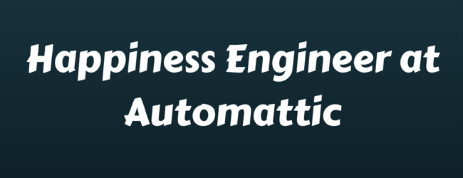 Get on board with Automattic u0026 Be a Happiness Engineer - Automattic PNG