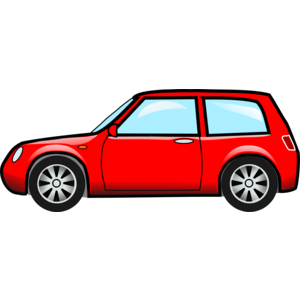 Red automobile - Automobile PNG