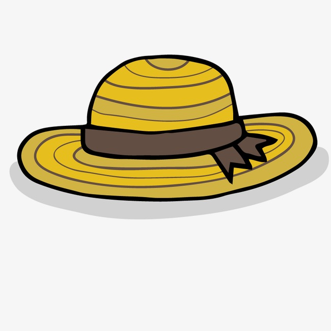 Vector Autumn Sun Hat, Yellow, Shape, Model Free PNG And Vector - Autumn Sun PNG
