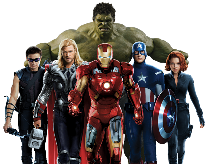 Avengers PNG File