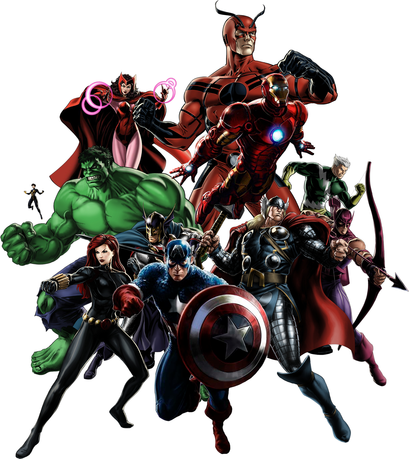 The Avengers.png - Avengers HD PNG