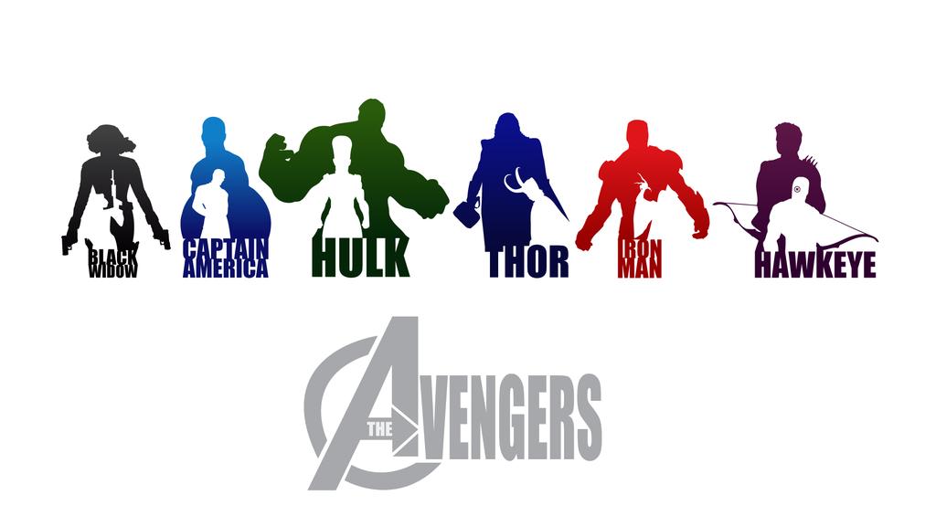 Avengers Logo Vector PNG - 104703