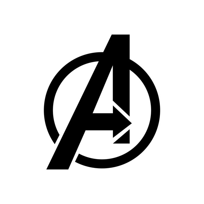 Marvelu0027S The Avengers Logo graphics design SVG DXF EPS Png Cdr Ai Pdf Vector  Art - Avengers Logo Vector PNG
