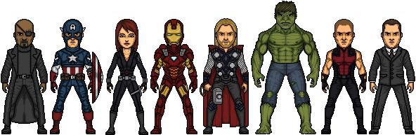 Avengers PNG - 5140
