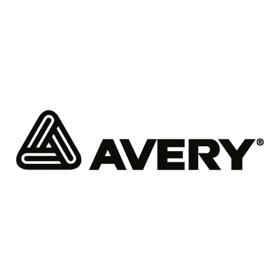 Avery Black vector logo . - Avery Black PNG