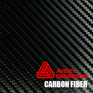 carbon-fiber-car-wrap-avery - Avery Black PNG