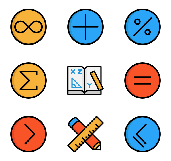 Math Symbols - Math Symbols PNG - Avtocompany PNG