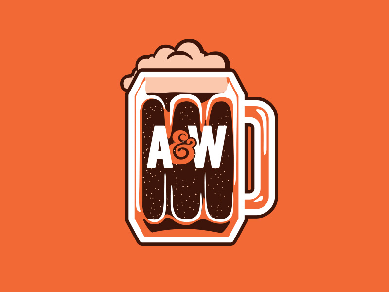 A root beer mug shannon adams dribbble - Aw Root Beer Logo PNG