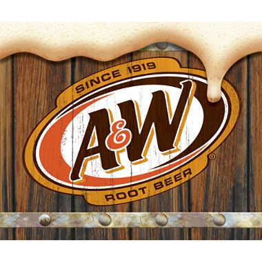 Au0026W Root Beer (12 oz. cans, PlusPng.com  - Aw Root Beer Logo PNG