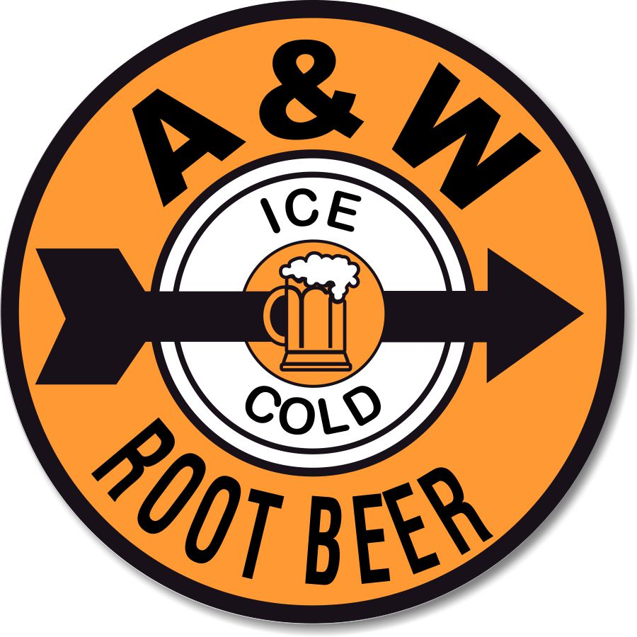 AW Root Beer Clip Art - Aw Root Beer Logo PNG