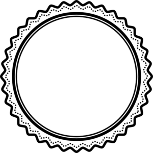 Award Outline Cliparts - Award Ribbon PNG Black And White