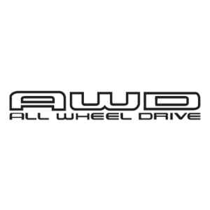 Free Vector Logo AWD - Awd Black Logo Vector PNG