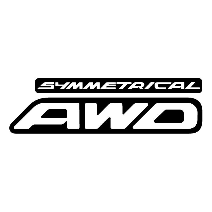 Symmetrical awd free vector - Awd Black Logo Vector PNG