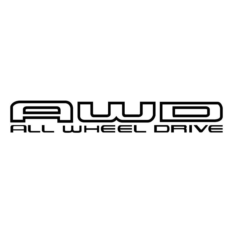 AWD - Awd Black Vector PNG