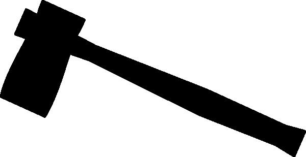 Axe Clip Art at Clker - Axe Black Logo Vector PNG