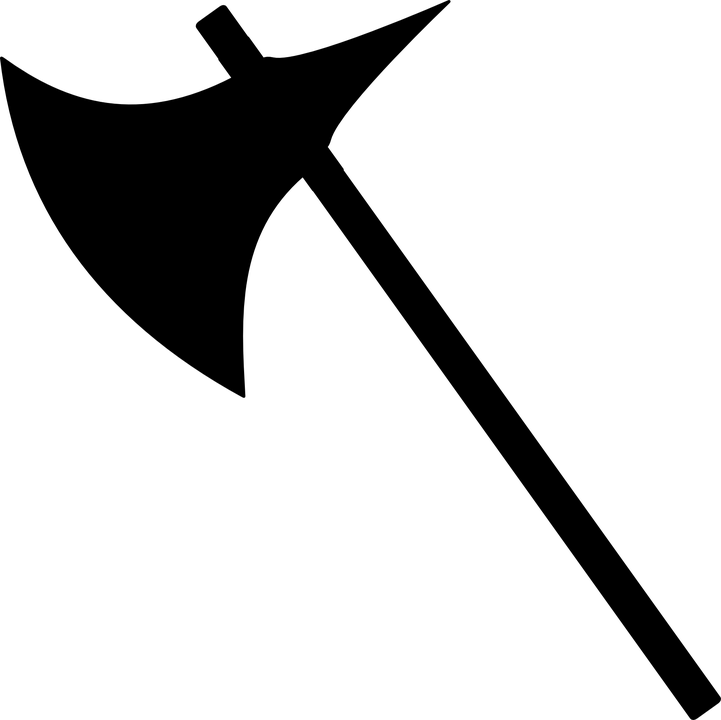 Black axe logo clipart - Axe Black Logo Vector PNG
