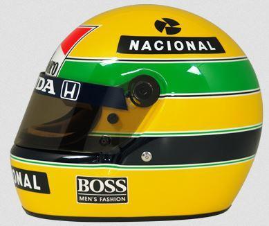Ayrton Senna helmet (picture Bell Helmets)_0.png. Aryton Sennau0027s Helmet. - Ayrton Senna S PNG